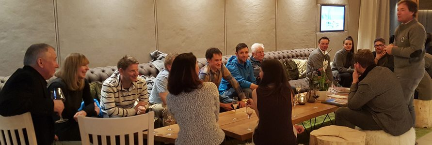 1. Skiklub-Stammtisch in Ladis