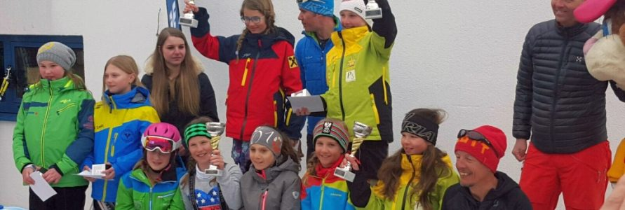 Erfolg für Celine Schönenberger beim Volksbank Kinder-Cup