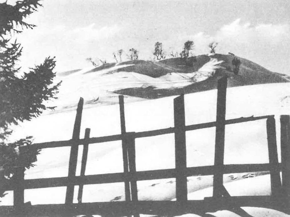 Alte Skifelder in Obladis