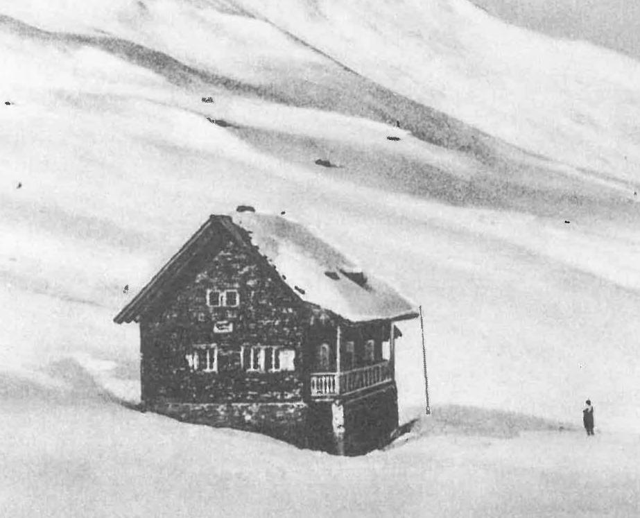Skihütte Obladis (2.000 m)