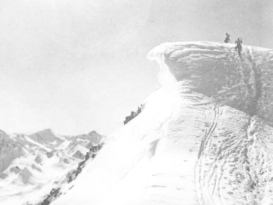 Skitour auf den Furgler (3.004 m) um 1935