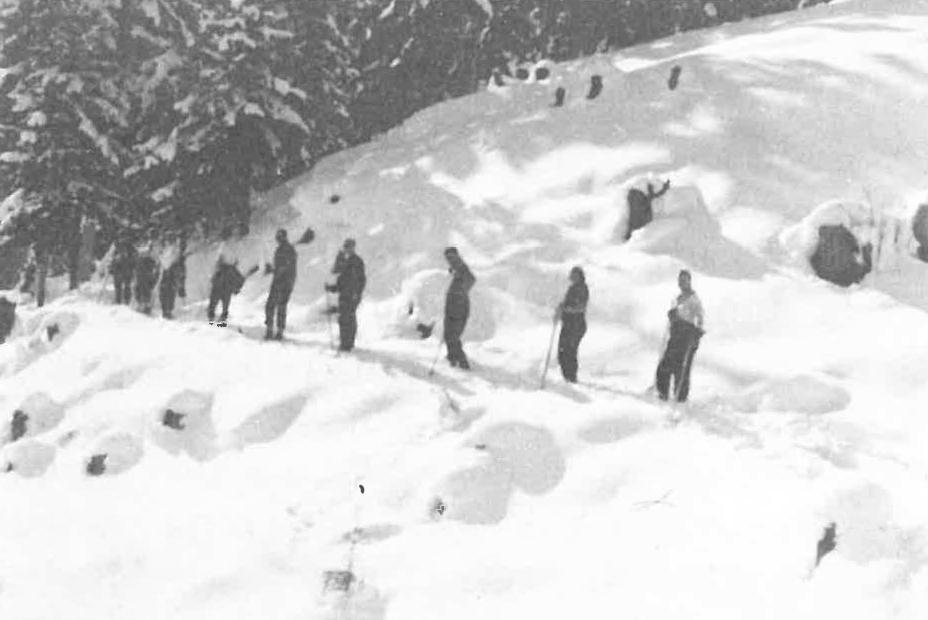 Auf Skitour von Obladis nach Frommes